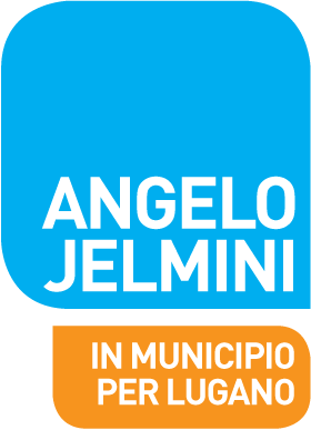 Angelo Jelmini - Logo - In municipio per Lugano